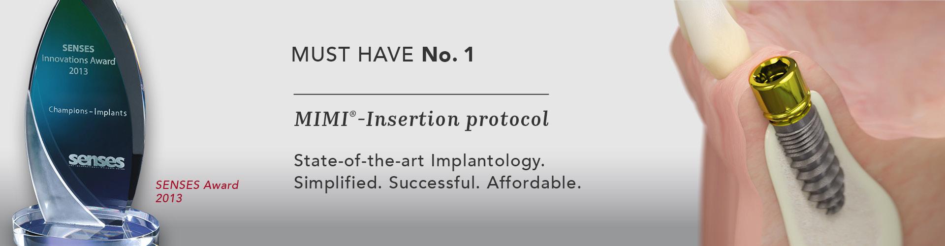 fabriek welbekend op voeten bij Champions Implants · Home